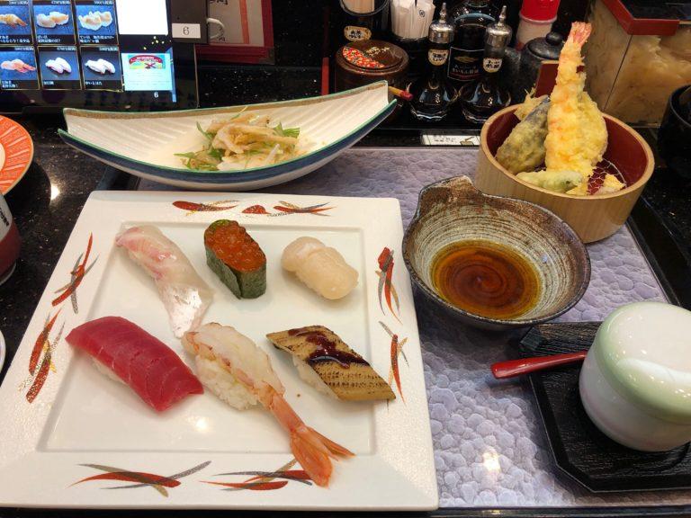 金沢まいもん寿司のランチ寿司セット