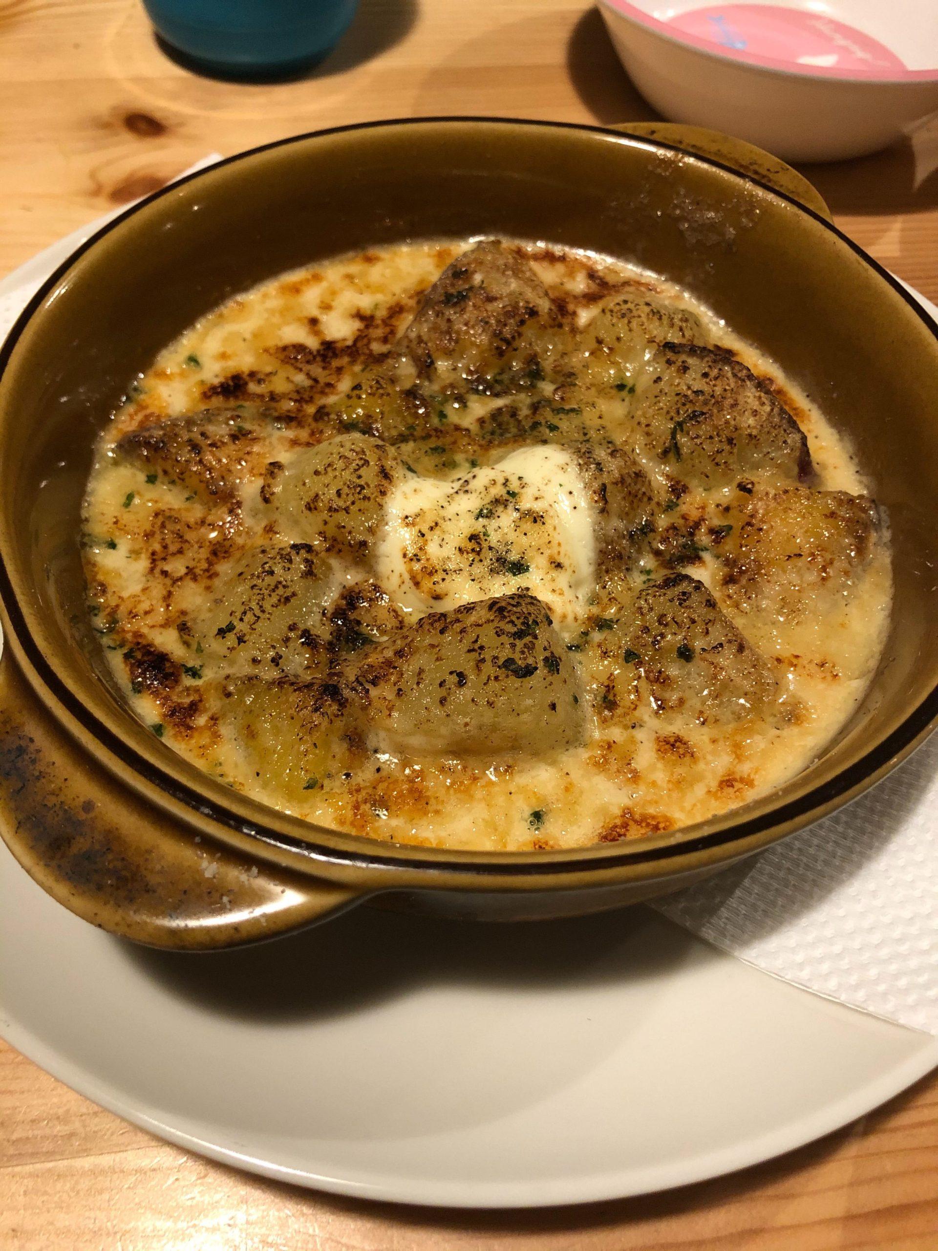 イタリアンロッジテンのサツマイモとチーズ