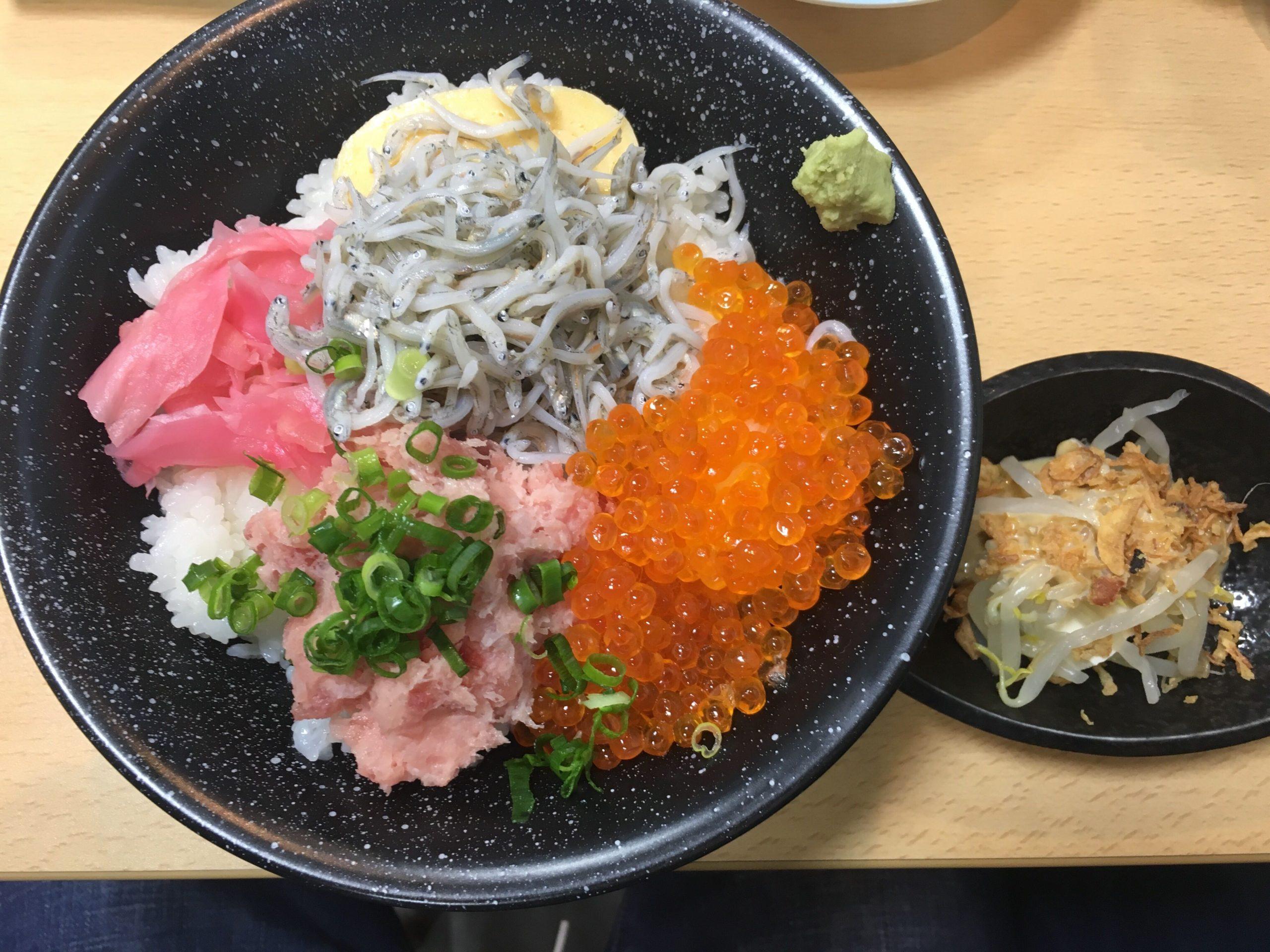 食楽キッチン熱海銀座店の海鮮丼